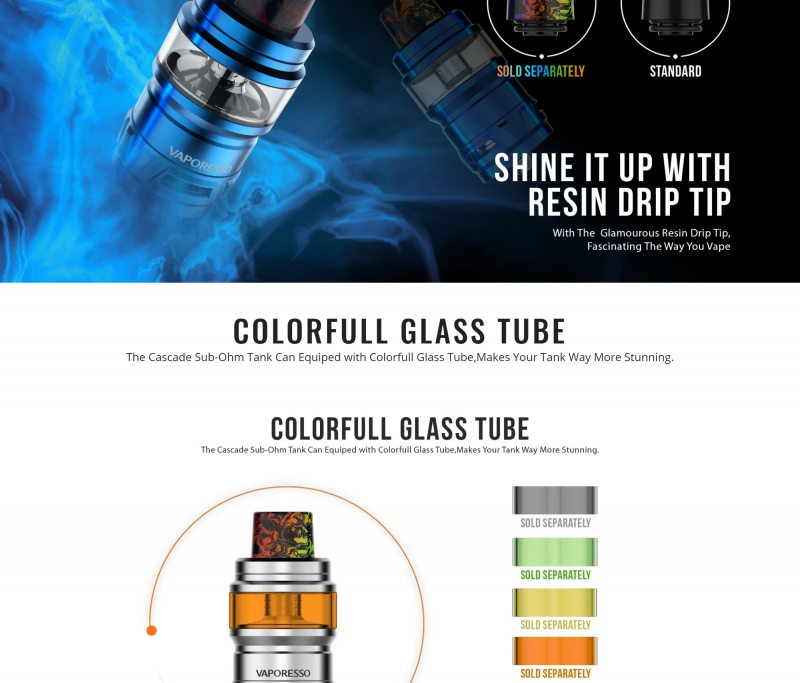Vaporesso Cascade 7ML 24mm Tank 6