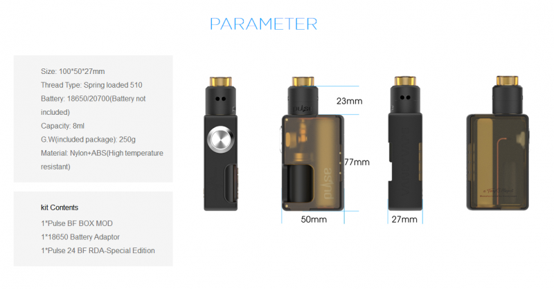 Vandy Vape PULSE BF KIT 9
