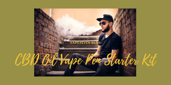 CBD Oil Vape Pen Starter Kit