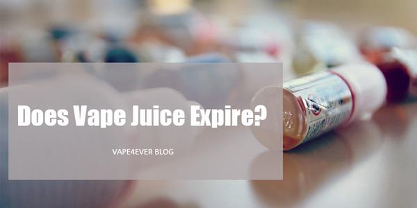 Does Vape Juice Expire or Go Bad?